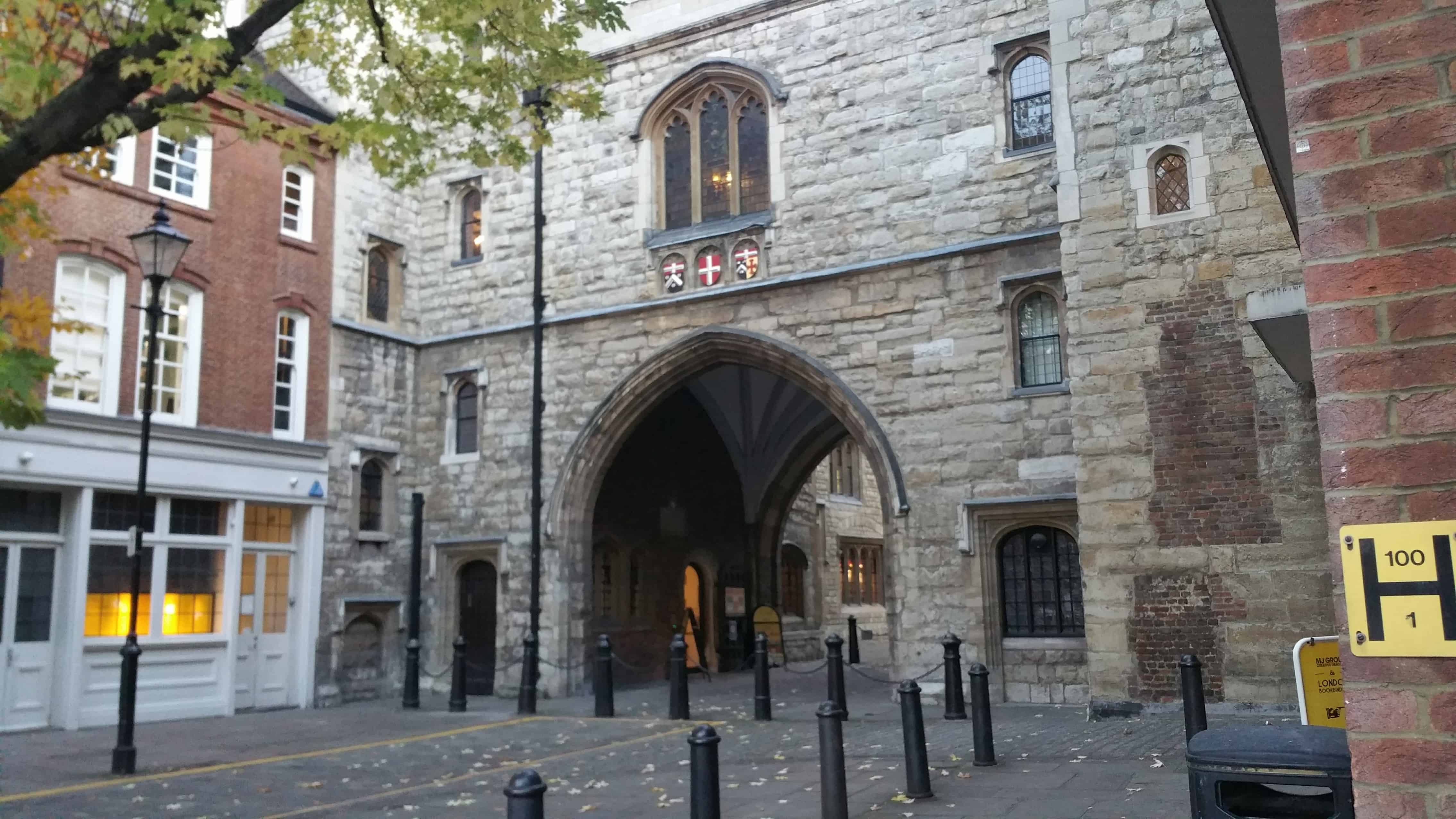 St John's Gate in Clerkenwell