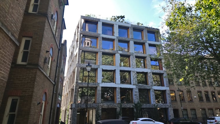 PIcture of modern building in Clerkenwell Close, Islington Local History Centre
