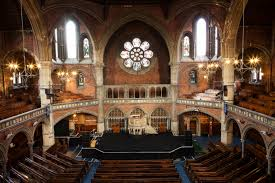photo of inside of The Union Chapel